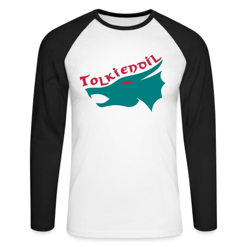 dragon tolkiendil - T-shirt baseball manches longues Homme