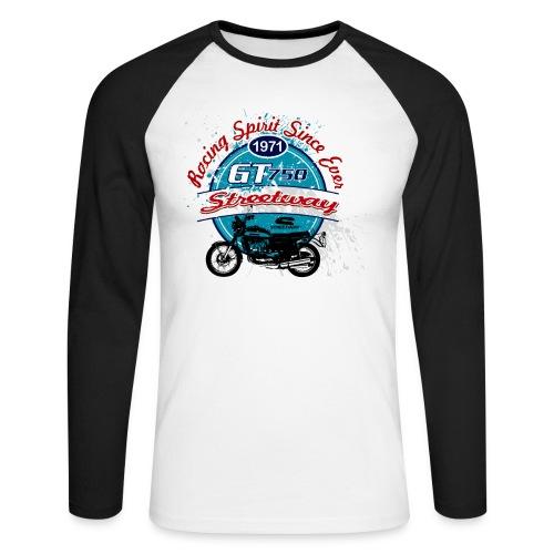 M090 - T-shirt baseball manches longues Homme