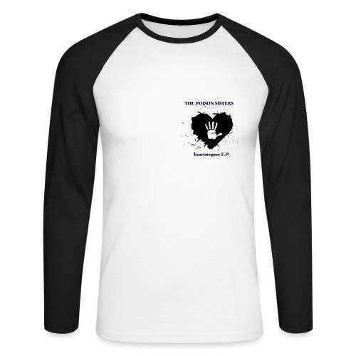 Heartstopper EP - Men's Long Sleeve Baseball T-Shirt