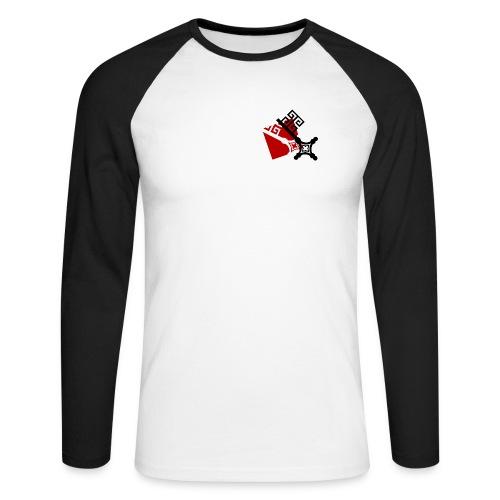 shirtmotiv schluessel - Männer Baseballshirt langarm