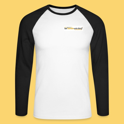 log 3 jpg - T-shirt baseball manches longues Homme