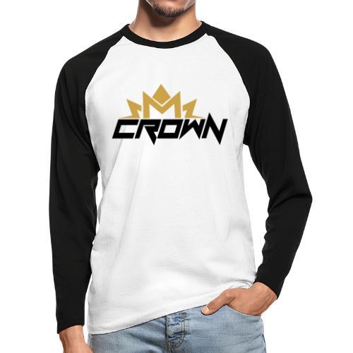 crown neu - Männer Baseballshirt langarm