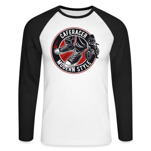 modern style - Men's Long Sleeve Baseball T-Shirt
