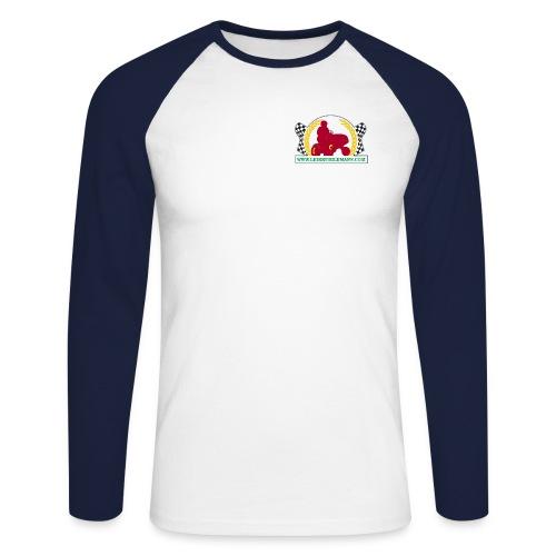 kangasmerkki logo 10000x6 - Men's Long Sleeve Baseball T-Shirt