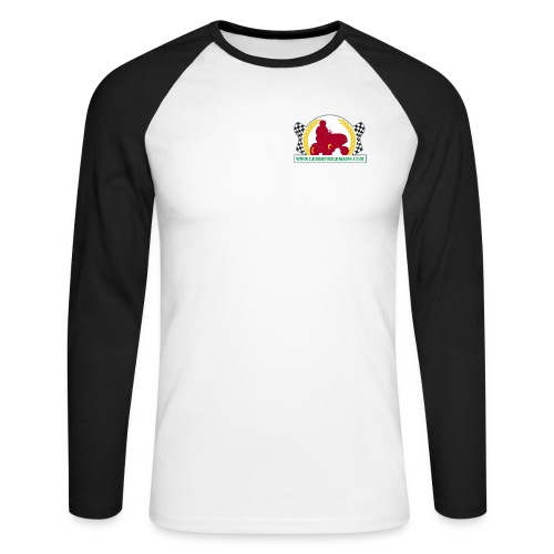 kangasmerkki logo 10000x6 - Men's Long Sleeve Baseball T-Shirt