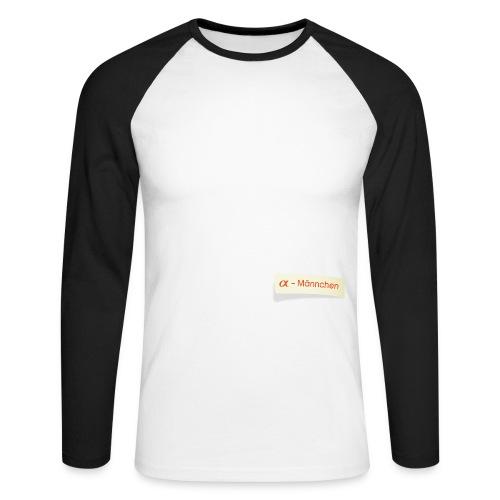 α Männchen - Männer Baseballshirt langarm