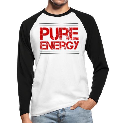 Sport - Pure Energie - Männer Baseballshirt langarm