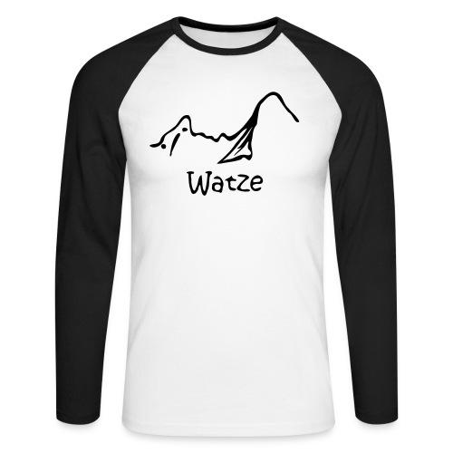 Watzeneu - Männer Baseballshirt langarm