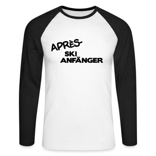 Après Ski Anfänger - Männer Baseballshirt langarm