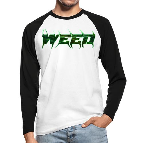 Weed MD Flash - Raglán manga larga hombre