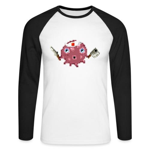Ollie The Octopus - Mannen baseballshirt lange mouw