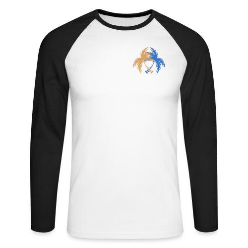 264 logo - Men's Long Sleeve Baseball T-Shirt