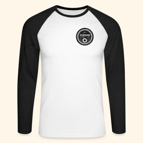 Logo Fotofreunde - Männer Baseballshirt langarm