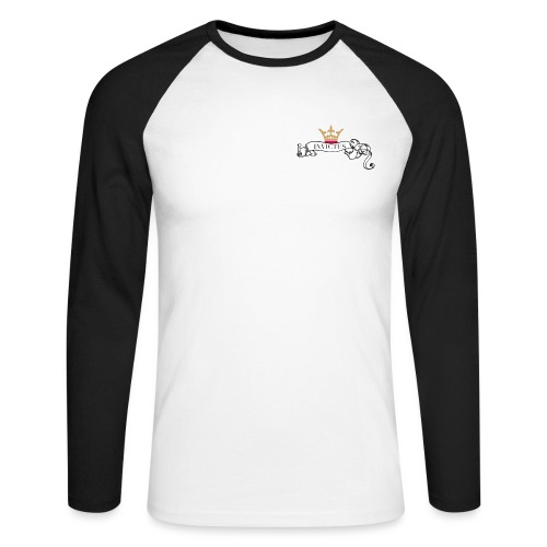 Invictus - Men's Long Sleeve Baseball T-Shirt
