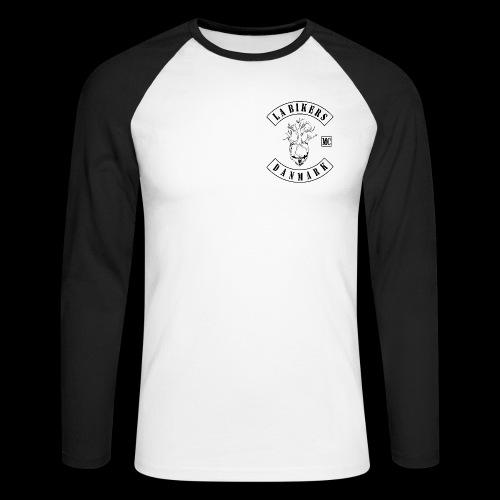 FULDGYLDIG - Langærmet herre-baseballshirt