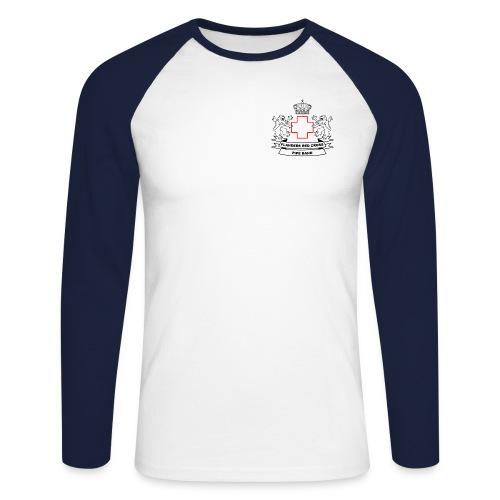 logo zwart PNG - Mannen baseballshirt lange mouw