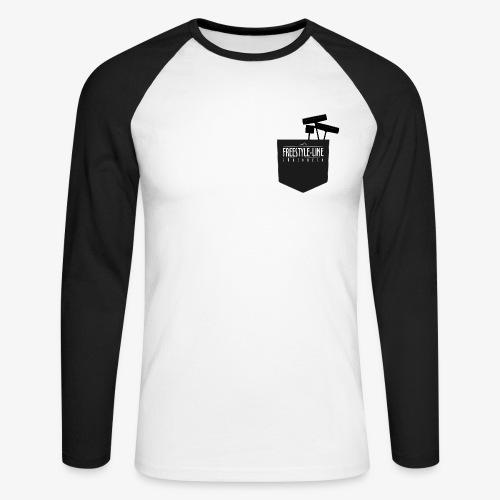 Shaper Pocket - Männer Baseballshirt langarm