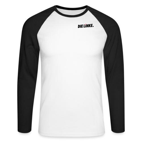 Schriftzug_original - Männer Baseballshirt langarm