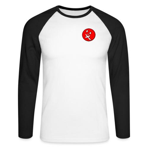 BIGNOSENEWNOBG gif - Men's Long Sleeve Baseball T-Shirt