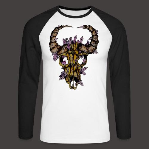 Buffle de Cristal Creepy - T-shirt baseball manches longues Homme
