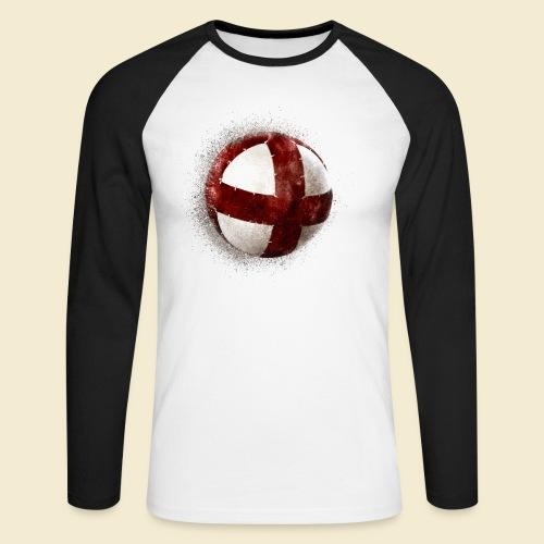 Radball   Cycleball - Männer Baseballshirt langarm