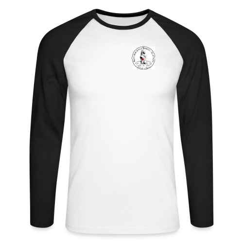 Logo Firenze - Maglia da baseball a manica lunga da uomo
