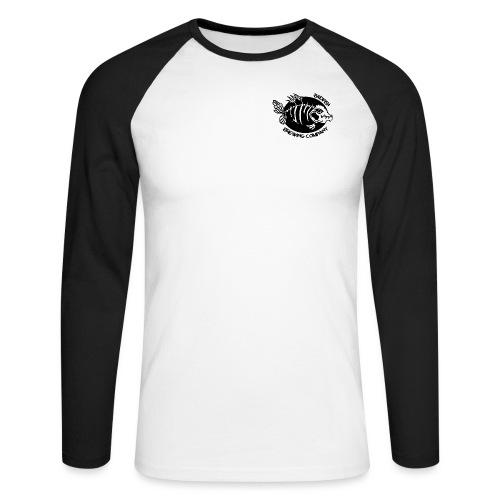 Double logo double - T-shirt baseball manches longues Homme