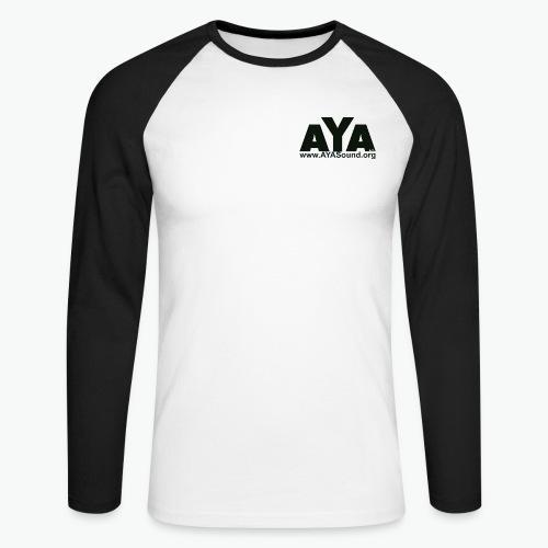 aya - Männer Baseballshirt langarm