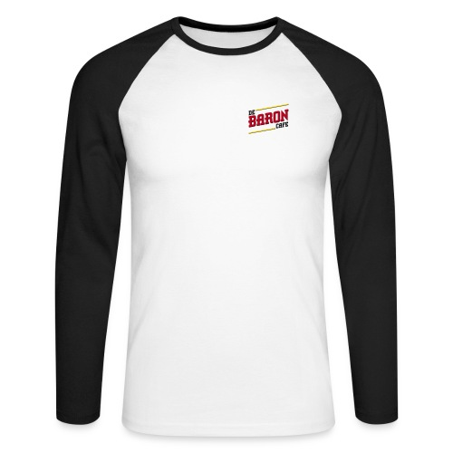 baron logo ai klein kleur - Mannen baseballshirt lange mouw