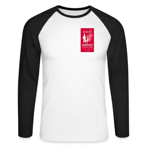 AADI Rev 1 jpg - Men's Long Sleeve Baseball T-Shirt