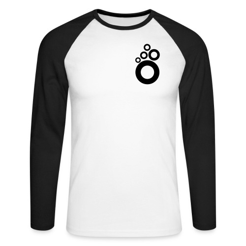 small logo rings - Långärmad basebolltröja herr