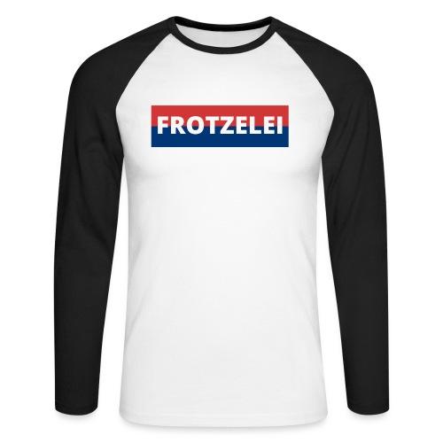 FROTZELEI - Polizeikontrolle Geschenk Autofahrer - Männer Baseballshirt langarm