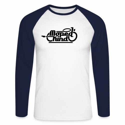 Moped Kind / Mopedkind (V1.0) - Men's Long Sleeve Baseball T-Shirt