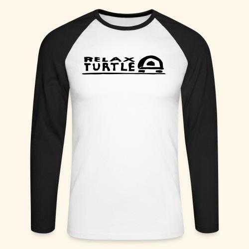 relax-turtle - Männer Baseballshirt langarm