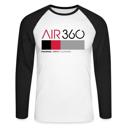 Air360 - Raglán manga larga hombre