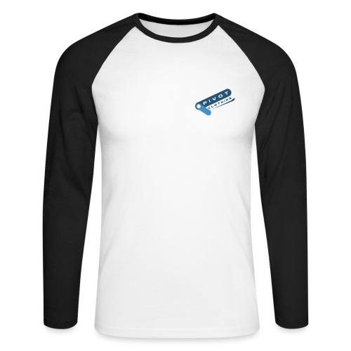 Pivot Clothing Simple - Men's Long Sleeve Baseball T-Shirt