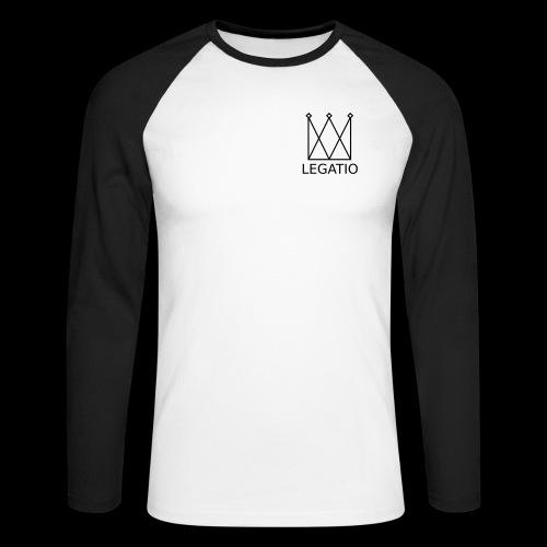 Legatio Plain - Men's Long Sleeve Baseball T-Shirt