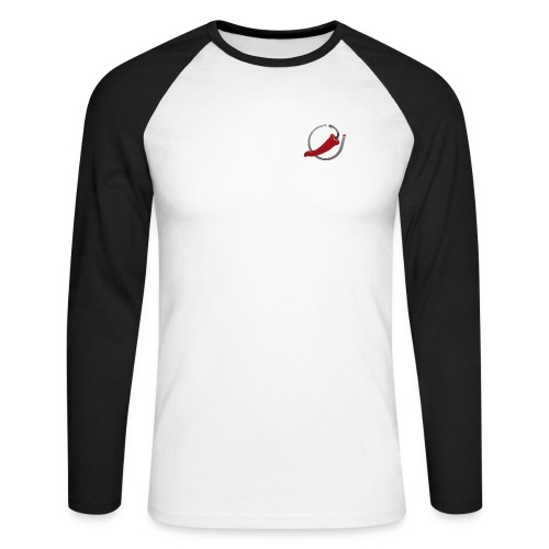 Jolokia Logo - Men's Long Sleeve Baseball T-Shirt