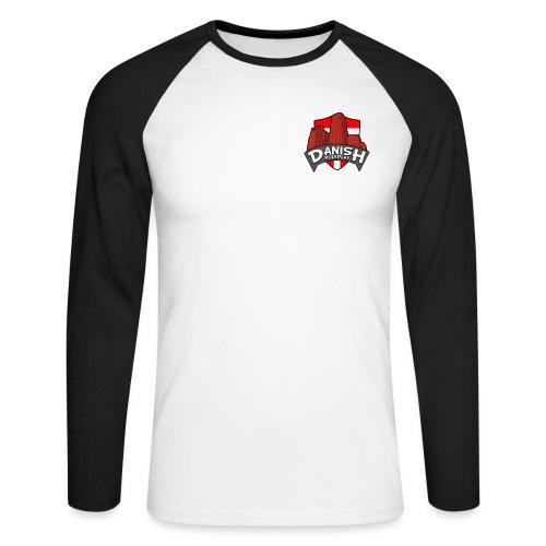 DanishRP Logo - Langærmet herre-baseballshirt