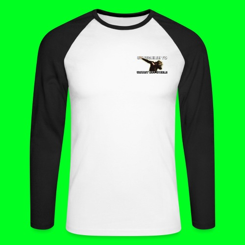DAB! - Men's Long Sleeve Baseball T-Shirt