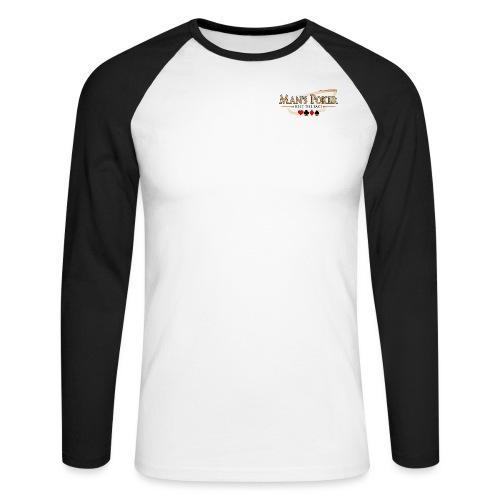 Mans Poker LQ fond clair - T-shirt baseball manches longues Homme