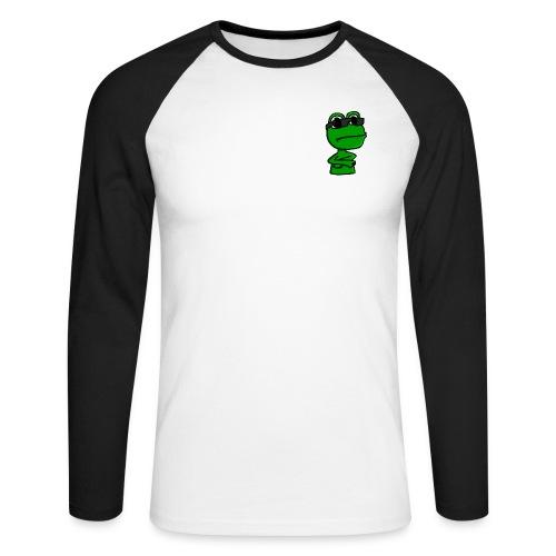 Qack-Logo 1600x1600 - Langærmet herre-baseballshirt