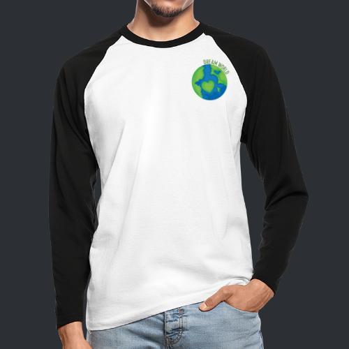 Slippy's Dream World Small - Men's Long Sleeve Baseball T-Shirt