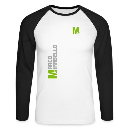 Marco Mirabello - Maglia da baseball a manica lunga da uomo
