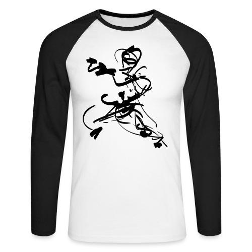 mantis style - Men's Long Sleeve Baseball T-Shirt
