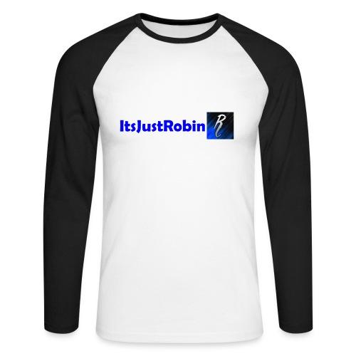 Eerste design. - Men's Long Sleeve Baseball T-Shirt