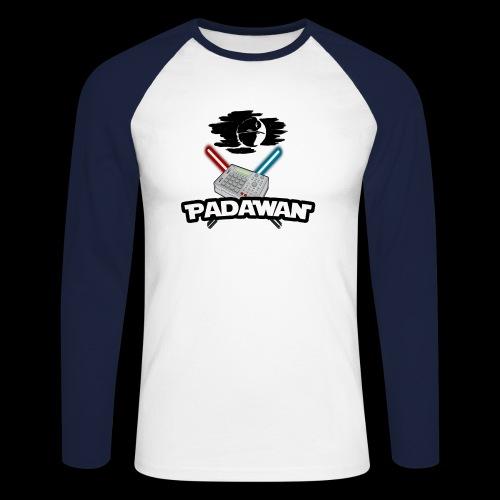 Padawan Noir - T-shirt baseball manches longues Homme