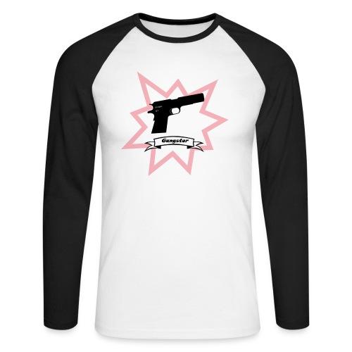 Gun with boom! - Men's Long Sleeve Baseball T-Shirt