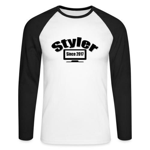 Styler Designer Kleding - Mannen baseballshirt lange mouw