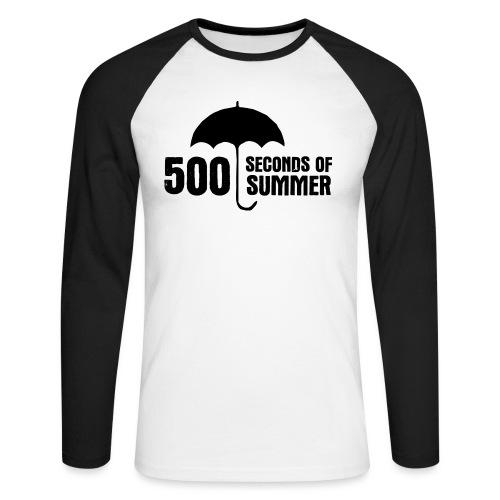 500 - Men's Long Sleeve Baseball T-Shirt